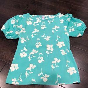 Greenish blouse
